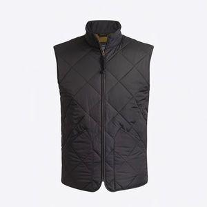 J. Crew Men's black Vest